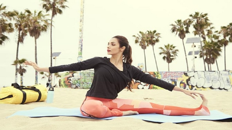 मलायका अरोरा एक फिटनेस फ्रीक आहे. त्यामुळे तिचे योगाचे फोटो आणि व्हिडिओ सोशल मीडियावर नेहमी असतात.