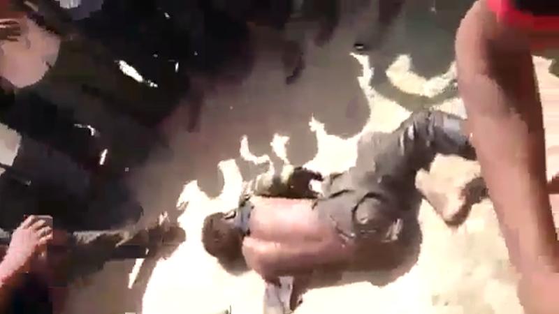 VIDEO : गोंदियात किडनी चोराच्या संशयावरुन भिकाऱ्याचा घेतला जीव
