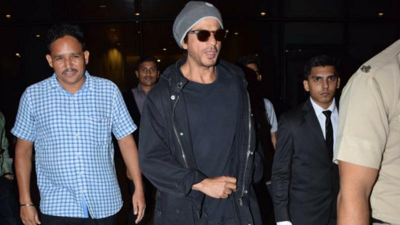 शाहरूख सध्या त्याच्या आगामी सिनेमात व्यस्त आहे.