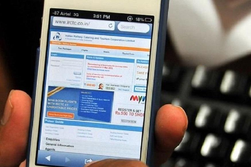 सर्वप्रथम तुम्हाला www.irctc.co.inला लॉग इन करावं लागेल. त्यानंतर तुम्हाला पीएनआर स्टेटसच्या इथे option हा पर्याय दिसेल.