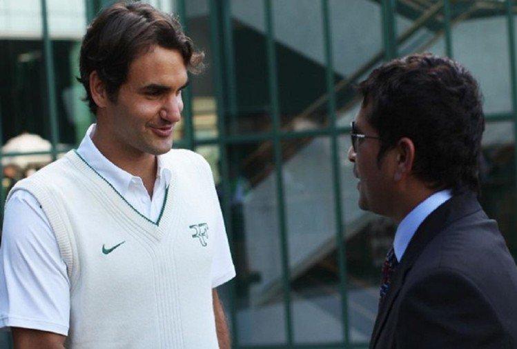 क्रिकेटचा देव सचिन तेंडुलकर आता जगज्ज्येत्या टेनिसपटू रॉजरर फेडररला क्रिकेटचे धडे देणार आहेत. स्वतः सचिन टेनिस खेळाचा फार मोठा चाहता आहे.