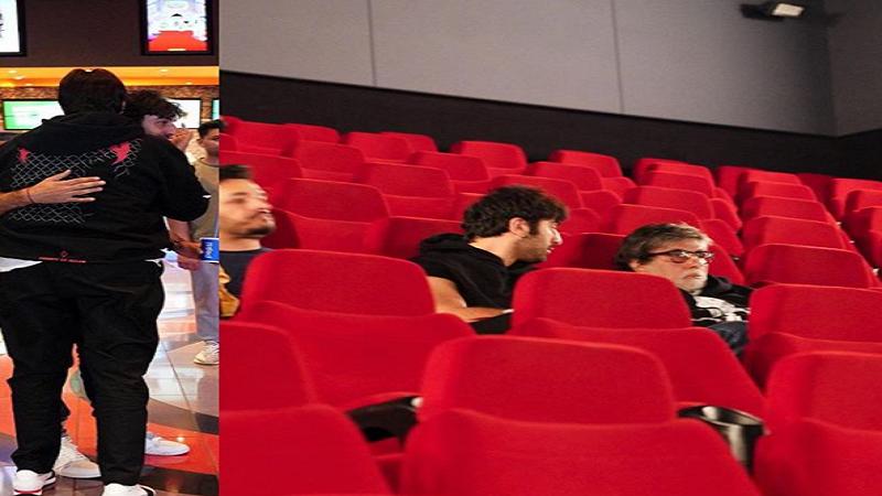 अमिताभ बच्चन यांनी सिनेमा पाहण्यासाठी केलं अख्खं थिएटर बुक!