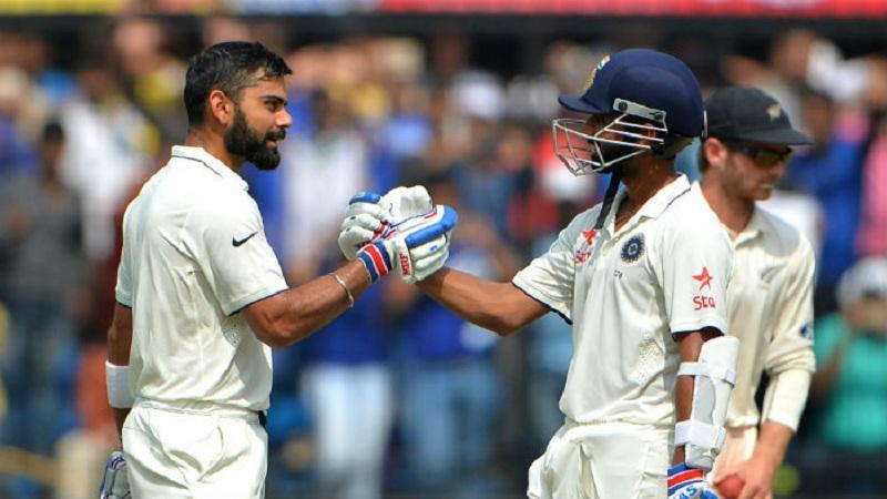 इंग्लंडविरुद्ध तीसऱ्या कसोटी सामन्यातील पहिल्या डावात भारताने सहा विकेट गमावून 307 धावा केल्या.