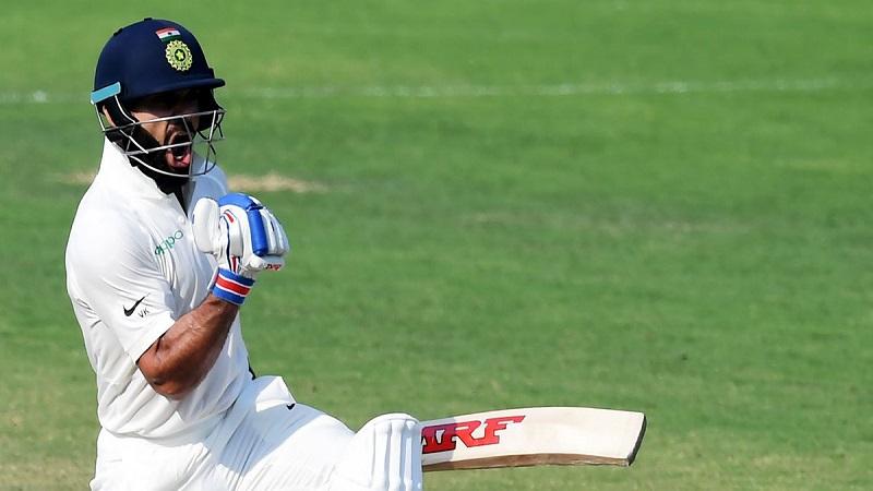 तसेच इंग्लंडविरुद्धच्या या कसोटीत विराटने ४४० धावसंख्या करुन भारताचा   माजी कर्णधार मोहम्मद अजहरुद्दीनला मागे टाकले आहे. १९९० मध्ये अजहरुद्दीनने ४२६ धावा केल्या होत्या.