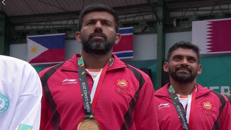 Asian Games 2018:  'गोल्डन ऐस' रोहन बोपण्णा- दिवीज शरण जोडीची सुवर्ण कामगिरी