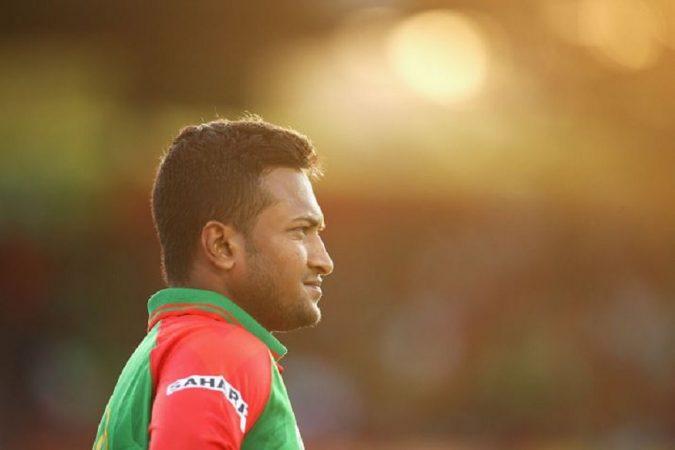 बांग्लादेशला तडाखेबाज किक्रेटर शाकिब अल हसन  जेव्हा मैदानात होता, त्याने तशी सुरुवात करून आपला इरादाही स्पष्ट केला होता.