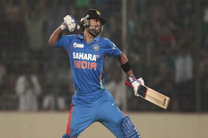 भारत आणि पाकिस्तान यांच्यात झालेल्या सामन्यांमध्ये भारतातून सर्वाधिक वैयक्तिक धावांची नोंद विराट कोहलीच्या नावावर आहे. २०१२ मध्ये बांगलादेशमध्ये खेळलेल्या एशिया कपमध्ये कोहलीने सामना जिंकवणारा खेळी खेळत १८३ धावा केल्या होत्या.