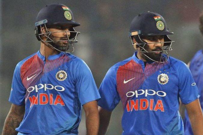 अंतिम सामन्यात सलामीवीर जोडीने जेव्हाही १०० हून अधिक धावांची भागिदारी केली तेव्हा टीम इंडिया ७५ टक्के सामने आणि मालिका जिंकली आहेत. त्यामुळे शिखर धवन आणि रोहित शर्मावर फार मोठी जबाबदारी आहे असेच म्हणावे लागेल.