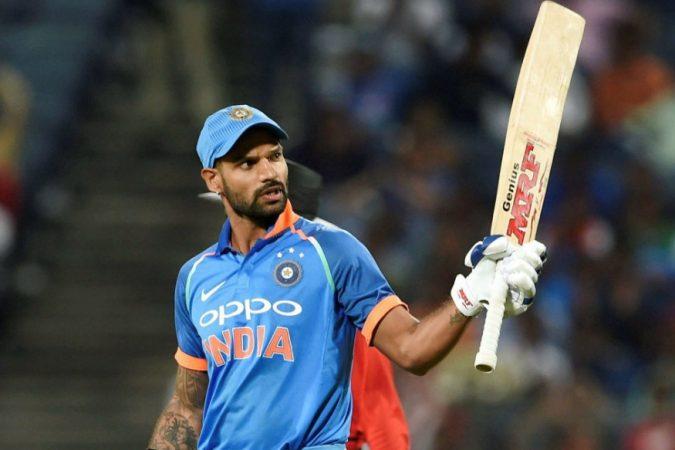 तसेच शिखर धवनने जेव्हाही शतक ठोकले आहे, भारताने ८० टक्के सामने जिंकले आहेत.