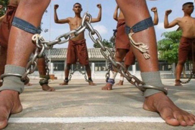 बेंगवांग जेल – थायलँडच्या या जेलमध्ये लोकांना टॉर्चर करण्यासाठी केमिकलचा वापर केला जातो. असं सांगण्यात येतंय की, मृत्यूदंड मिळालेल्या कैद्यांना लोखंडाच्या साखळीला बांधलं जायचं.