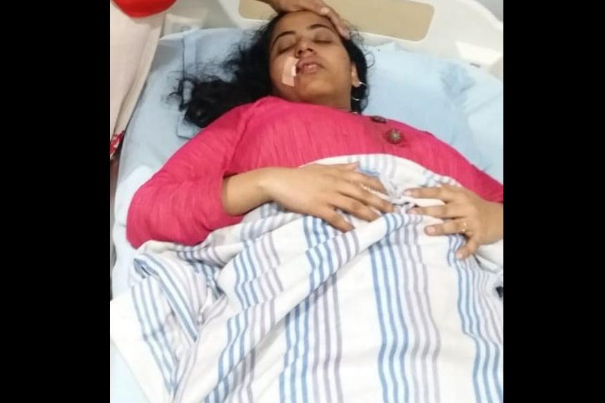 दिवा-मुंब्रा रेल्वे स्थानक परिसरात अज्ञातांची तुफान दगडफेक, महिला प्रवासी जखमी