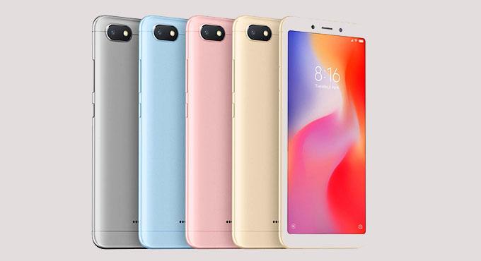 Redmi-6A हा फोन दोन प्रकारामध्ये असणार आहे. एका फोनमध्ये 2GB रॅम आणि 16GB इंटरनल स्टोअरेज आहे. दुसऱ्या फोनमध्ये 2GB रॅम आणि 32GB इंटरनल स्टोअरेज आहे.