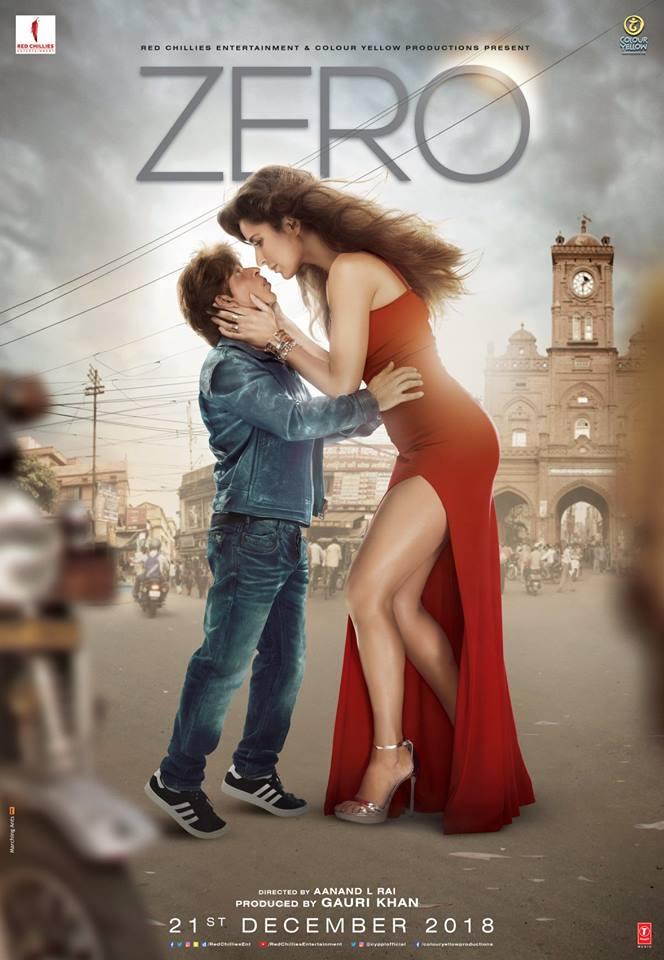दुसऱ्या पोस्टरमध्ये कतरिना आणि शाहरूख एकत्र दिसले आहेत. 2012 मध्ये 'जब तक है जान' सिनेमानंतर शाहरूख पहिल्यांदा कतरिनासोबत या चित्रपटात दिसणार आहे. याच पोस्टरने सोशल मीडियावर अनेक प्रश्न निर्माण केले आहेत. तसेच प्रेक्षकांची उत्सुकता वाढवली आहे. कतरिनाचा लूक बघताच कळतं की, चित्रपटात तिने एका सेलिब्रिटीची व्यक्तिरेखा साकारली आहे. 'नजर उठा कर देखो, शायद कोई सितारा जमीन पे आ गिरे' असं हृदयाला भिडणारं कॅप्शन त्यांनी हे पोस्टर रिलीज करताना दिलं. पोस्टरला वापरलेलं प्रत्येक वाक्य हे ट्रेलर आणि चित्रपटाची ओढ आणखी वाढवतं.