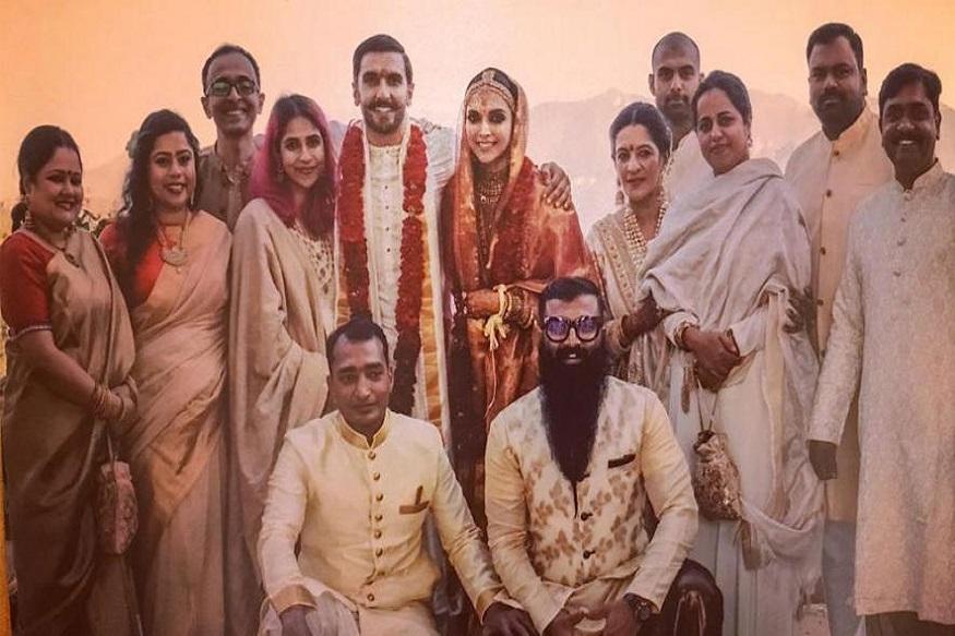 दीपिका-रणवीरच्या लग्नाचा नवा Photo झाला व्हायरल