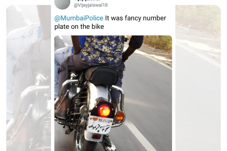 मुंबई पोलिसांची बेशिस्त चव्हाट्यावर, लोकांनी ट्विटरवर शेअर केले फोटो