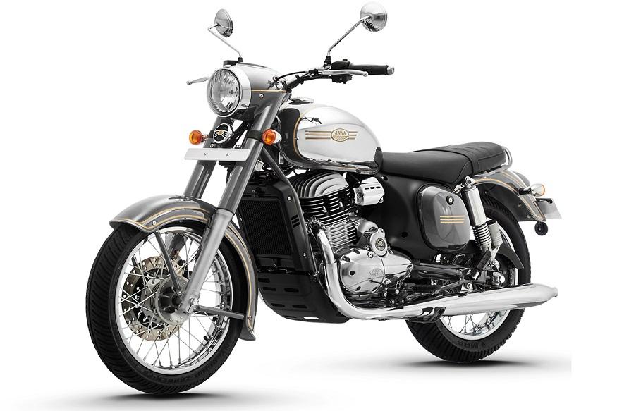 Royal Enfield Classic 350 च्या डिझाईनविषयी बोलायचे झाल्यास या बाईकच्या समोर एक 35 मिलीमीटरचा टेलीस्कोपिक फोर्क्स आहे जो Jawa Forty Two पेक्षा खूप कमी आहे.