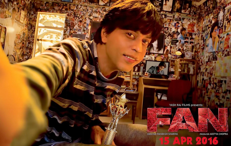 'फॅन' चित्रपटाचं प्रोमोशन शाहरुखने 2015 सालच्या सर्व अॅवॉर्डमधून सुरू केलं होतं. 15 एप्रिल 2016 रोजी फॅन रिलीज झाली आणि शाहरुखच्या फॅन्लना दुख: झालं. सिनेमानं चार आठवड्यामध्ये एकूण 188 कोटीच कमवले होते.