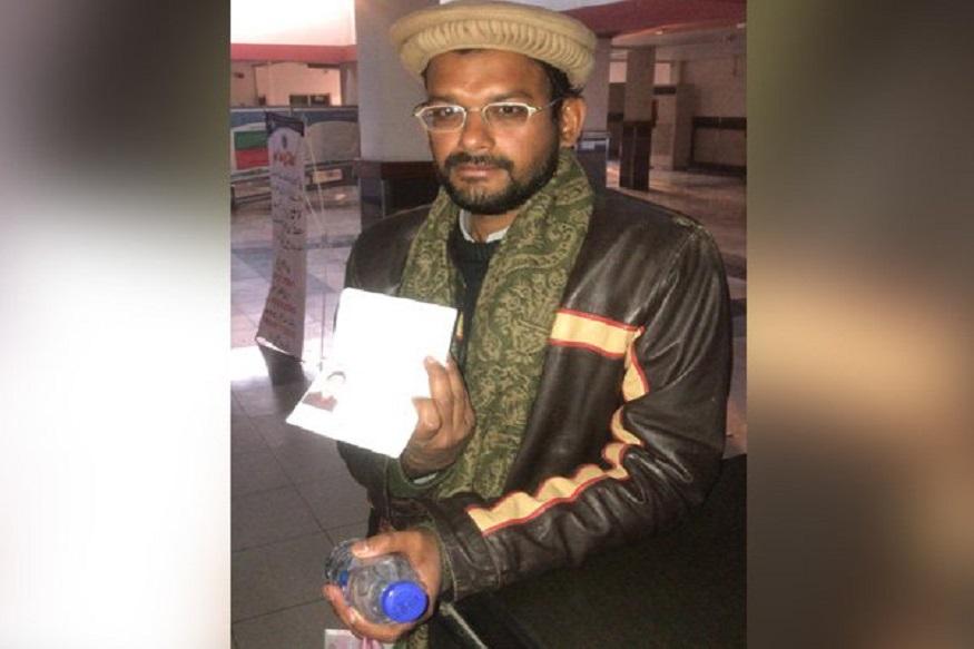 आपल्या 'झारा'ला भेटण्यासाठी तो थेट अफगानिस्तानला गेला तिथून तो पाकिस्तानात गेला. पाकिस्तानात गेल्यावर पाकची गुप्तचर संस्थेनं अन्सारीला 2012 मध्ये ताब्यात घेतलं होतं आणि 2015 मध्ये लष्कराच्या कोर्टानं हामिदनं  पाकिस्तानी बनावट ओळखपत्र सोबत बाळगल्याच्या आरोपाखाली 3 वर्षांची शिक्षा सुनावली होती.