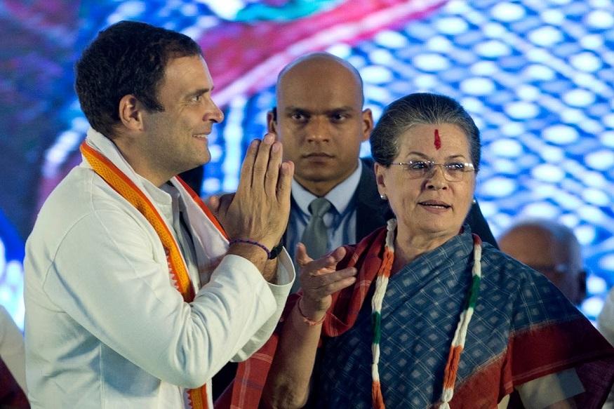 Assembly Election Result 2018 LIVE  तेलंगणात काँग्रेसचं 'सोनिया अम्मा' कार्ड चाललं नाही.