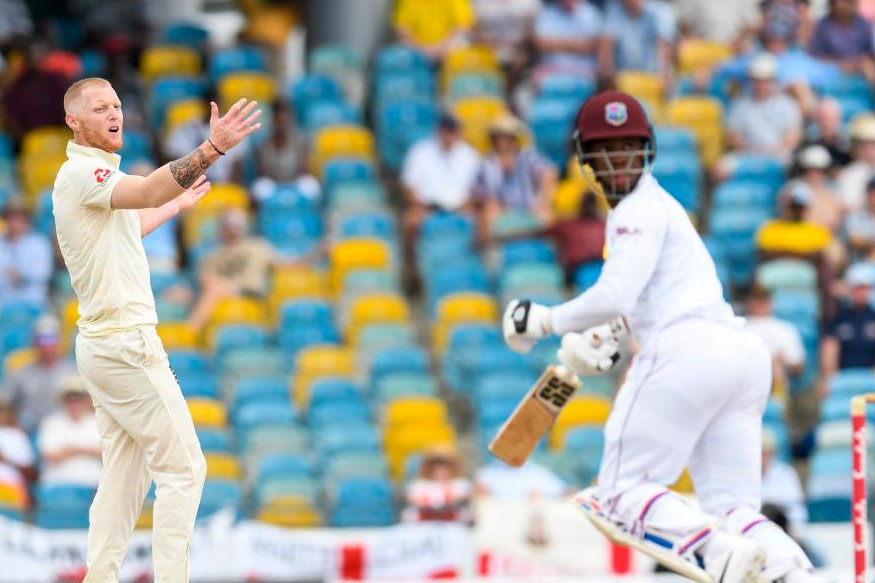वेस्ट इंडिजच्या संघाने दिलेल्या 290 धावांच्या प्रत्युत्तरादाखल खेळताना इंग्लंडच्या संघाने संथ सुरूवात केली. पहिल्या 9 षटकात त्यांनी केवळ 23 धावा काढल्या. या षटकाच्या शेवटच्या चेंडूवर कुटन जेनिंग्स १७ धावा काढून बाद झाला.