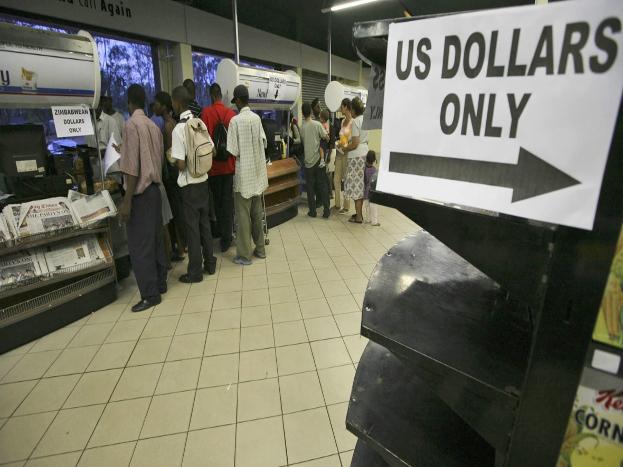 1999 ते 2008 या काळातील आर्थिक मंदीने महागाई आणखी भडकली. एका आठवड्याचं बस भाडं एक लाख कोटी डॉलरवर पोहचलं होतं.