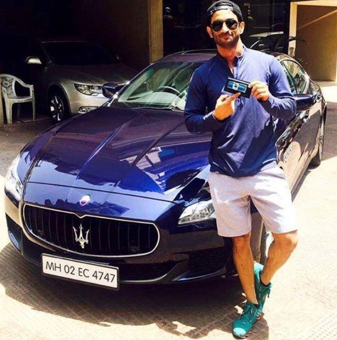 सुशांतकडे रेंज रोवर SUV आणि BMW 1300 R बाइक आहे. पण, या सगळ्यात त्याचं स्वप्न तेव्हा पूर्ण झालं जेव्हा त्याने Maserati विकत घेतली. सुशांत याचे फोटो सोशल मीडियावरही शेअर केले होते.