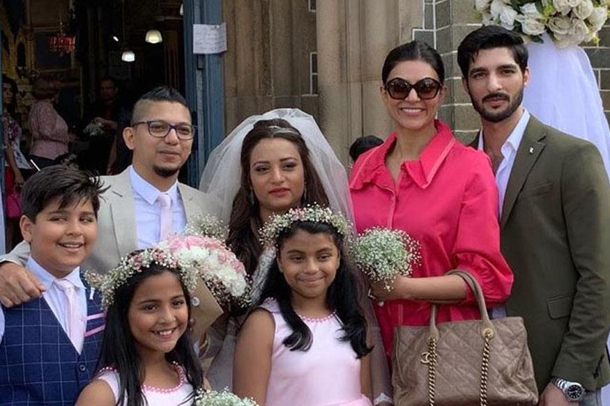 सुष्मिता सेनने 'बॉयफ्रेंड' आणि मुलीसोबतचे PHOTO केले शेअर