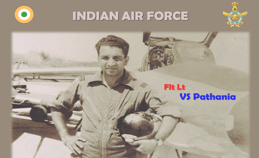 4 सप्टेंबर, 1965 रोजी फ्लाइट लेफ्टिनेंट व्ही. एस. पठानिया Gnat विमान उडवत दुसऱ्या पीएफ सेबर जेट विमानाला ठार केलं होतं. (Photo credit: Indian Air Force)