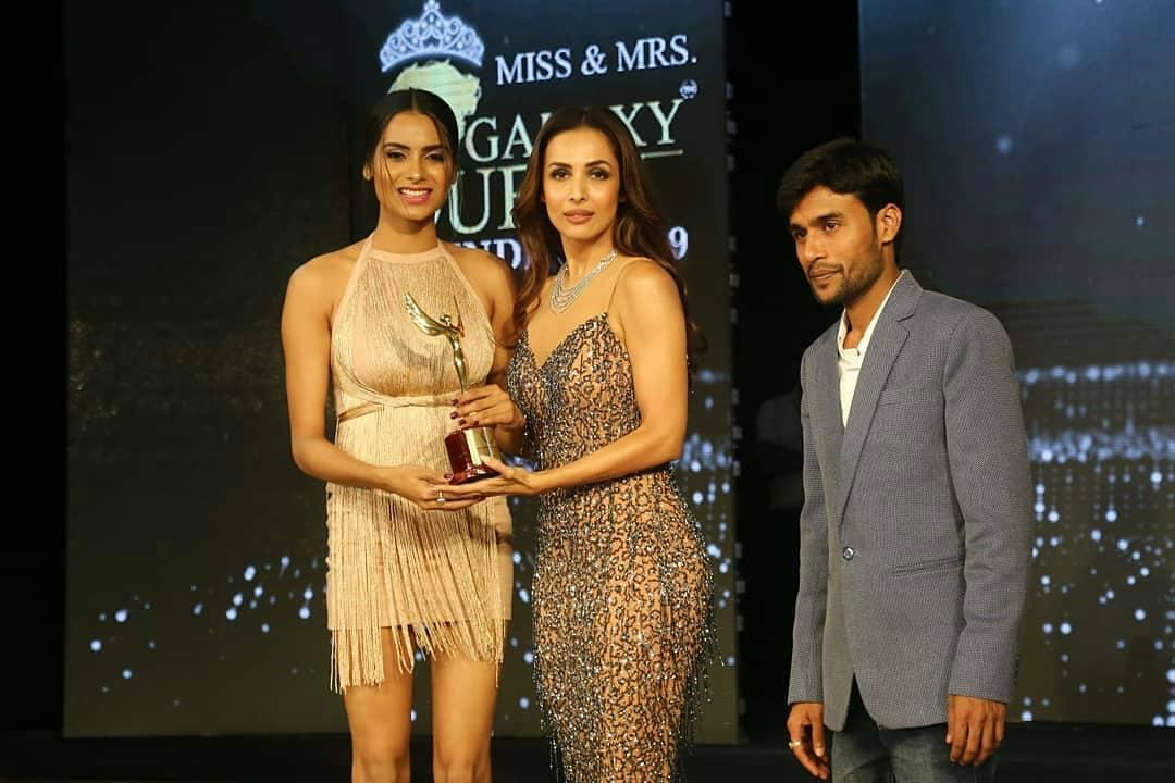 हा पुरस्कार सोहळा Galaxy Queen and Galaxy King च्या अंतिम फेरीदरम्यान आयोजित करण्यात आला होता.