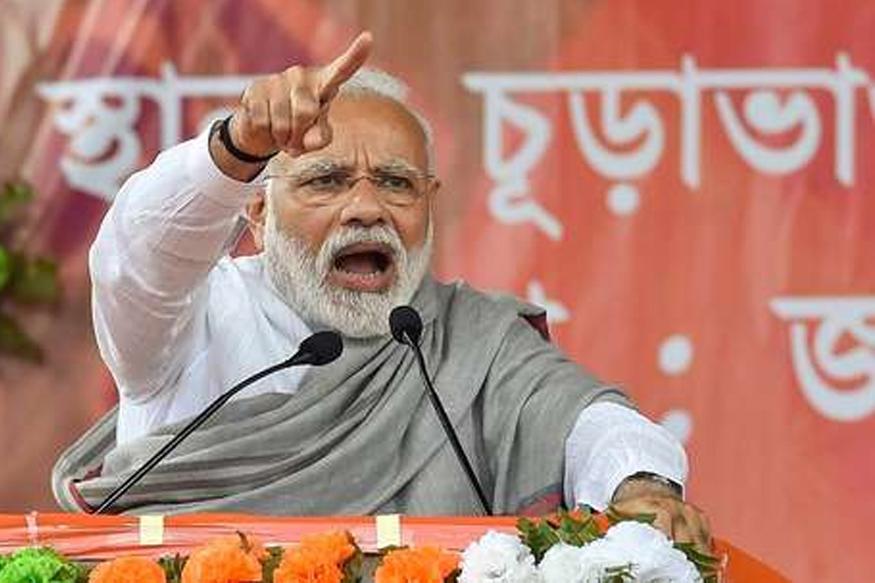 'भारत हा नव्या नीती आणि नव्या रितीचा देश आहे. हे आता जगही पाहणार आहे. गोळीबार करणारा असो अथवा बंदूक घेऊन तैनात असेल आता त्यांना स्वस्थ बसू दिलं जाणार नाही.'