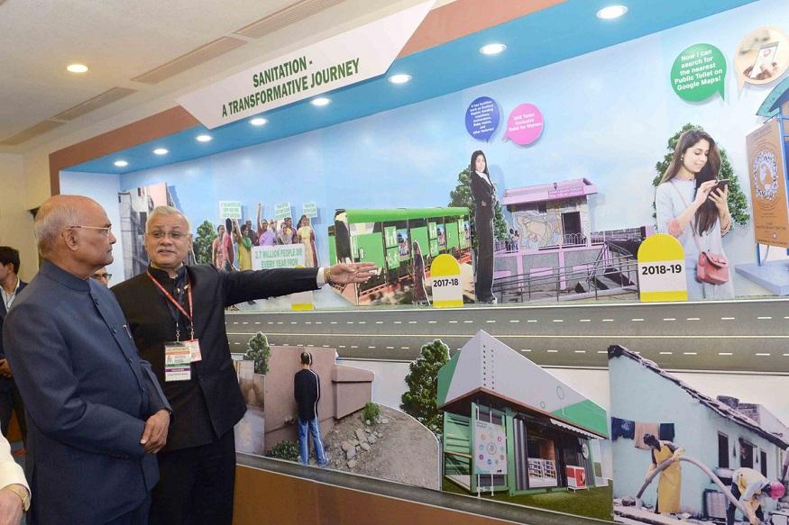 राष्ट्रपती भवनात आयोजित करण्यात आलेल्या कार्यक्रमात देशातील सर्वात स्वच्छ शहरांची यादी प्रसिद्ध करण्यात आली. राष्ट्रपति भवनात राष्ट्रपती रामनाथ कोविंद यांच्या उपस्थितीत सुंदर शहरांच्या प्रतिनिधींनी गौरवण्यात आले.