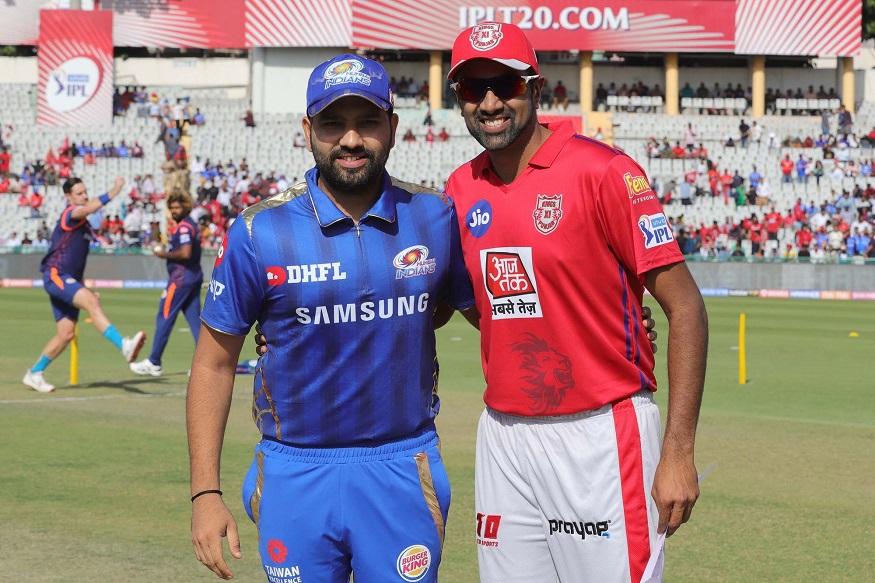 शनिवारी झालेल्या किंग्ज पंजाब विरुद्ध मुंबई सामन्यात नाणेफेक जिंकून पंजाबचा कर्णधार अश्विनने प्रथम फलंदाजीचा निर्णय घेतला.