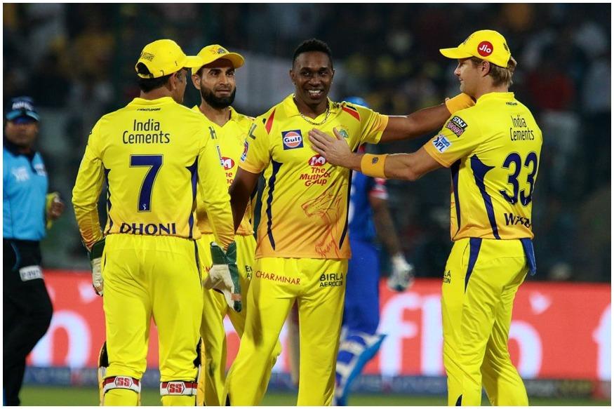 चेन्नईच्या ड्वेन ब्राव्होने 33 धावा देत 3 विकेट घेतल्या.