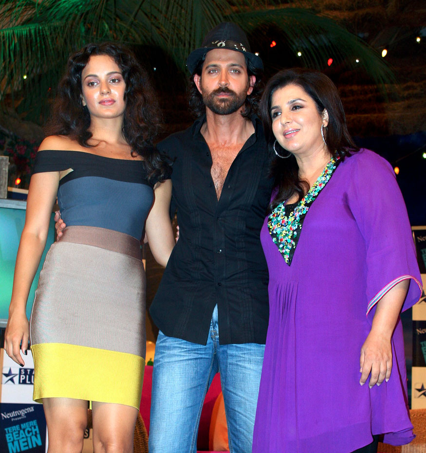फराह खानच्या चॅट शोसाठी कंगना आणि हृतिक उपस्थित (Image: Reuters)