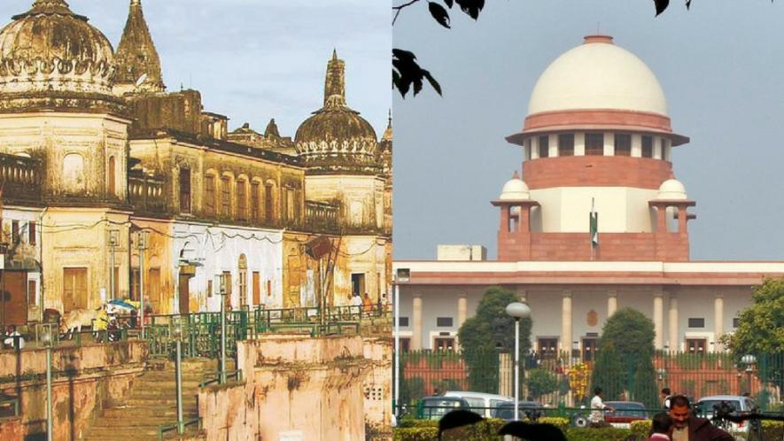 आयोध्येतील बाबरी मशिदीचा वादग्रस्त भाग 6 डिसेंबर 1992 ला पाडण्यात आलं होतं. त्यानंतर आजपर्यंत त्या ठिकाणी मंदिर उभारणीची मागणी होत आली आहे. राम जन्मभूमी-बाबरी मशिदीचा वाद आजचा नाही तर 15 व्या शतकापासून तो सुरू आहे.