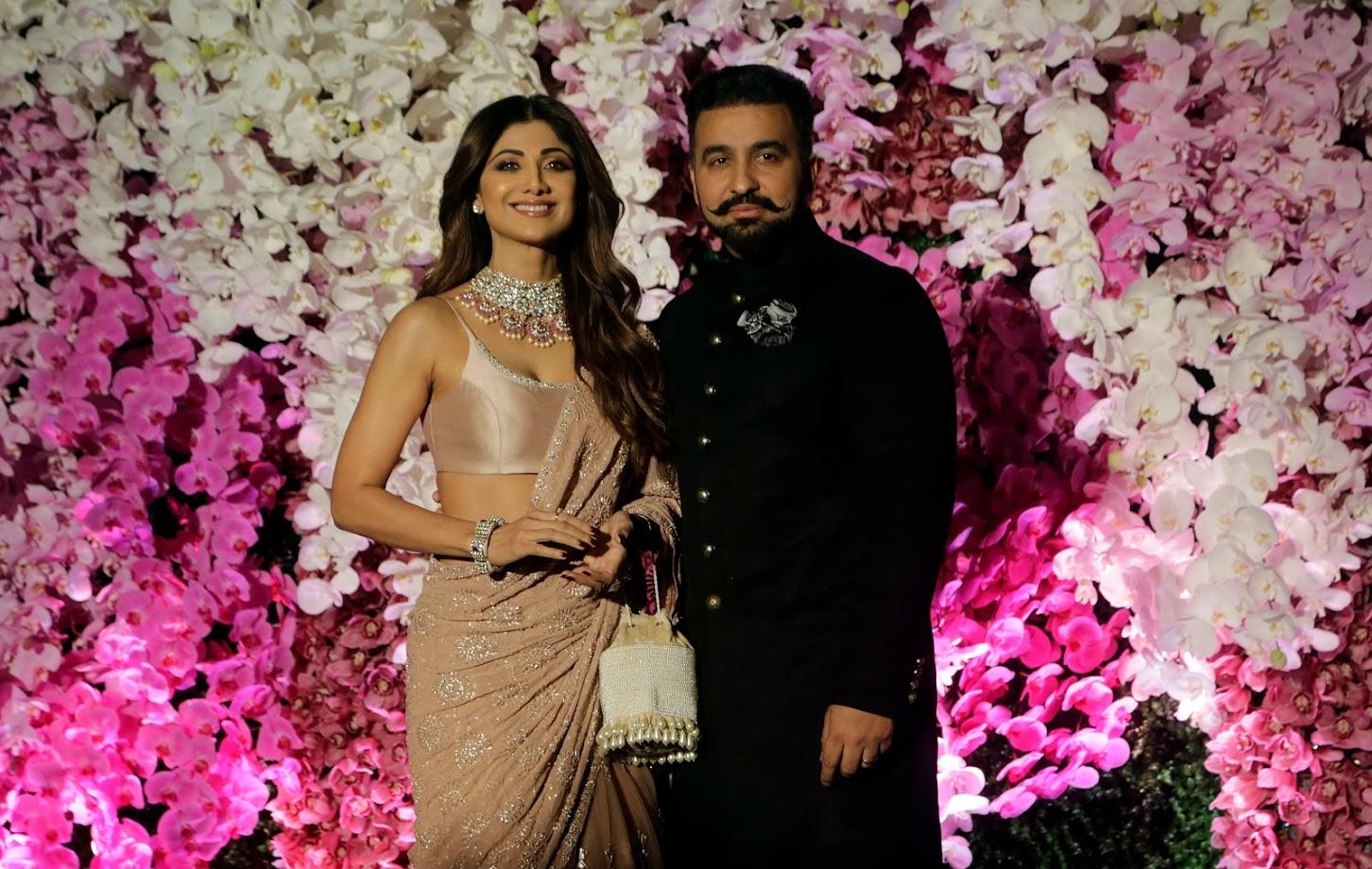 शिल्पा शेट्टी आणि पती राज कुंद्रा