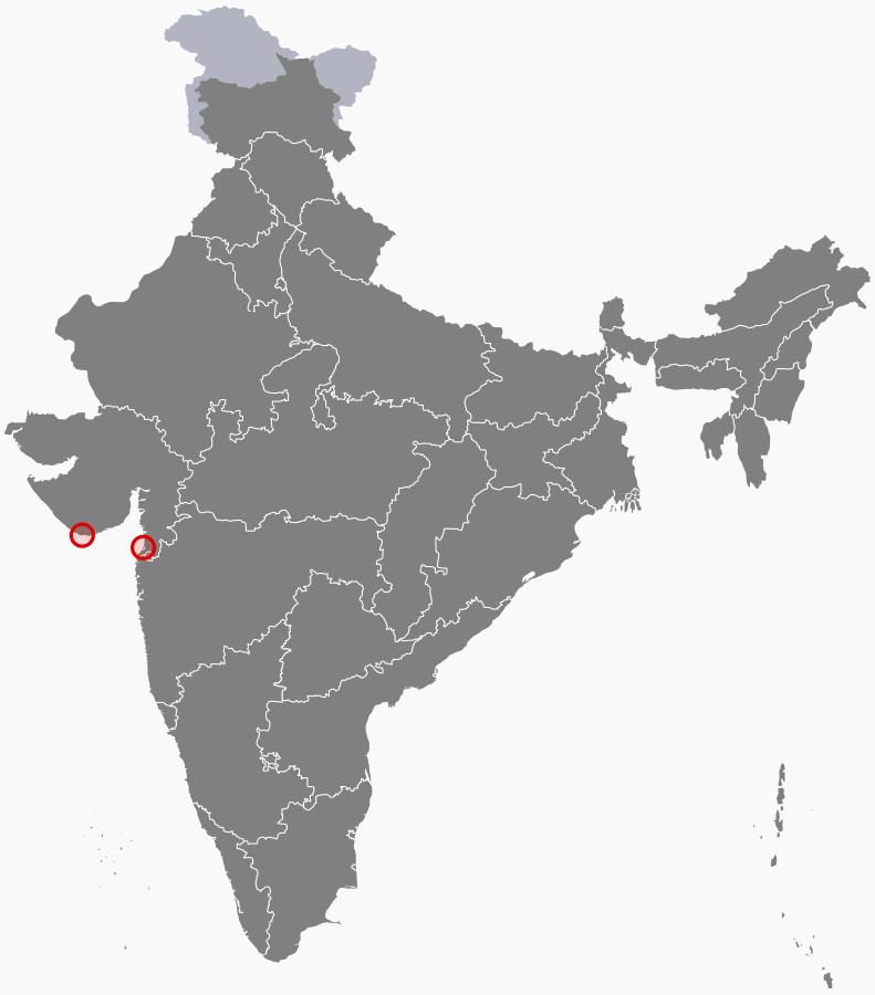 भारताचा केंद्रशासित प्रदेश दीव दमणच्या बेटावर एक तुरुंग आहे. बेटावरील प्रसिद्ध किल्ला दिउ इथं हा तुरुंग आहे. पोर्तुगाल शासकांनी या किल्ल्याची बांधणी केली होती.