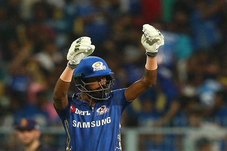 पांड्याने 34 चेंडूत 6 चौकार आणि 9 षटकारांसह 91 धावा केल्या आहेत. आयपीएलच्या इतिहासात यापूर्वी खालच्या क्रमांकावर य़ेऊन जास्त धावा करण्याचा विक्रम आंद्रे रसेलच्या नावावर होता. त्याने गेल्यावर्षी 88 धावा केल्या होत्या.