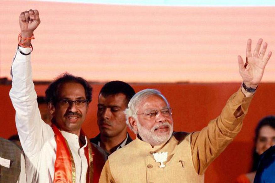 युतीची घोषणा झाल्यानंतर PM मोदी आणि उद्धव ठाकरे प्रथमच एकाच मंचावर!