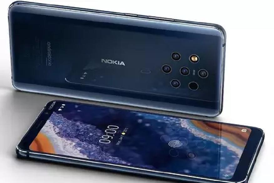 'HMD ग्लोबल'ने फेब्रुवारी-19 मध्ये स्पेनमध्ये 5 कॅमेरे असलेला जगातला पहिला स्मार्टफोन 'Nokia 9 PureView' हा लाँच केला. हा स्मार्टफोन याच महिन्यात (एप्रिलमध्ये) भारतात लाँच होणार असल्याची माहिती आहे. असे आहेत या स्मार्टफोनचे फिचर्स आणि किंमत...