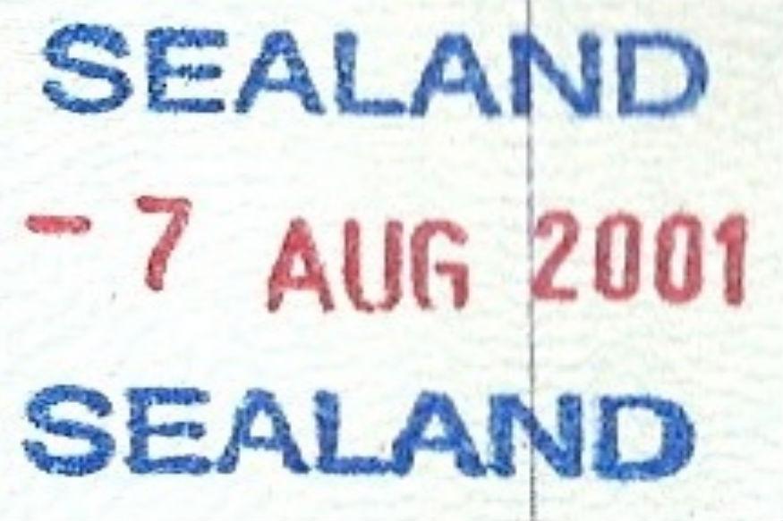 बेट्स यांनी या सीलँडसाठी घटना तयार केली. त्यामध्ये या देशाचा झेंडा, राष्ट्रगीत, चलन आणि पासपोर्टही बनवला गेला. तरीही सीलँडला मायक्रो नेशन असंच म्हटलं जातं. याचा अर्थ, या देशाला अधिकृत देश म्हणून मान्यता नसते.