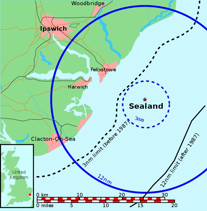 पॅडी रॉय बेट्स हे एक समुद्री चाचा आणि रेडिओचे प्रसारक होते. त्यांना या किल्ल्यावरून रेडिओचं प्रसारण करायचं होतं. पण पुरेशी उपकरणं नसल्यामुळे ते हे करू शकले नाहीत.