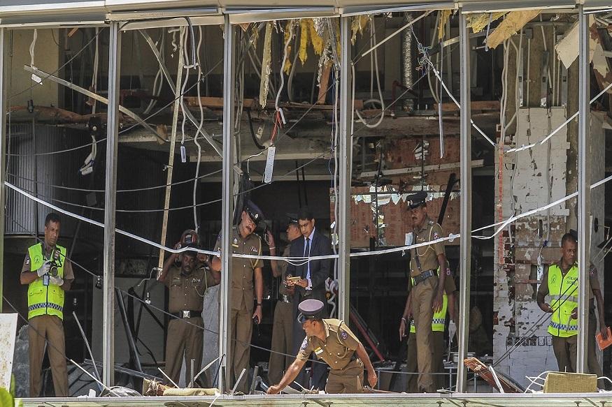 श्रीलंकेत पुन्हा तीन बॉम्बस्फोट, देशभर पोलिसांचं छापासत्र