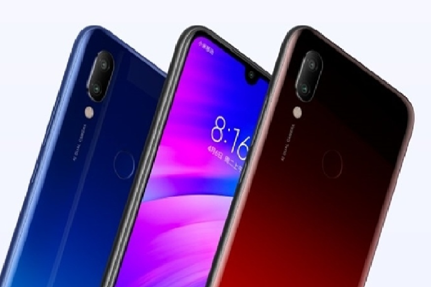 हा फोन अँड्रॉइड Pie बेस्ड MIUI सह लाँच केला जाऊ शकतो. मोबाईल हँडसेटसाठी ब्लैक, रेड और ब्लू असे तीन कलर ऑप्शन असून, त्यात 4,000mAh ची बॅटरी देण्यात आली आहे. भारतात लाँच होताना Redmi 7 मध्ये कोणकोणते फिचर राहतील याकडे सर्वांचं लक्ष लागलं आहे.