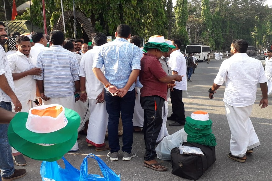 congress worker in wayanad