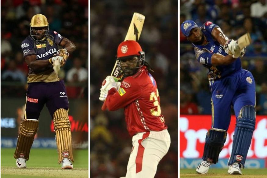 PHOTOS : IPLमध्ये सध्या घोंगावतयं कॅरेबियन वादळ, 'हे' आहेत षटकारांचे बादशाह