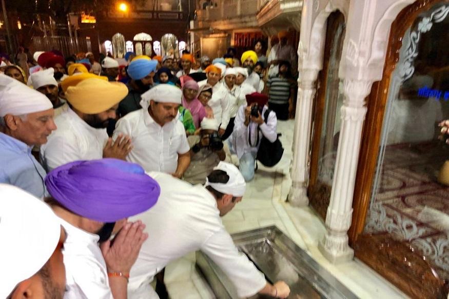 राहुल गांधी यांनी सुवर्ण मंदिराला भेट देणार याबद्दल गुप्तता बाळगण्यात आली होती. प्रसारमाध्यमांना देखील याबद्दल कोणतीही माहिती नव्हती.
