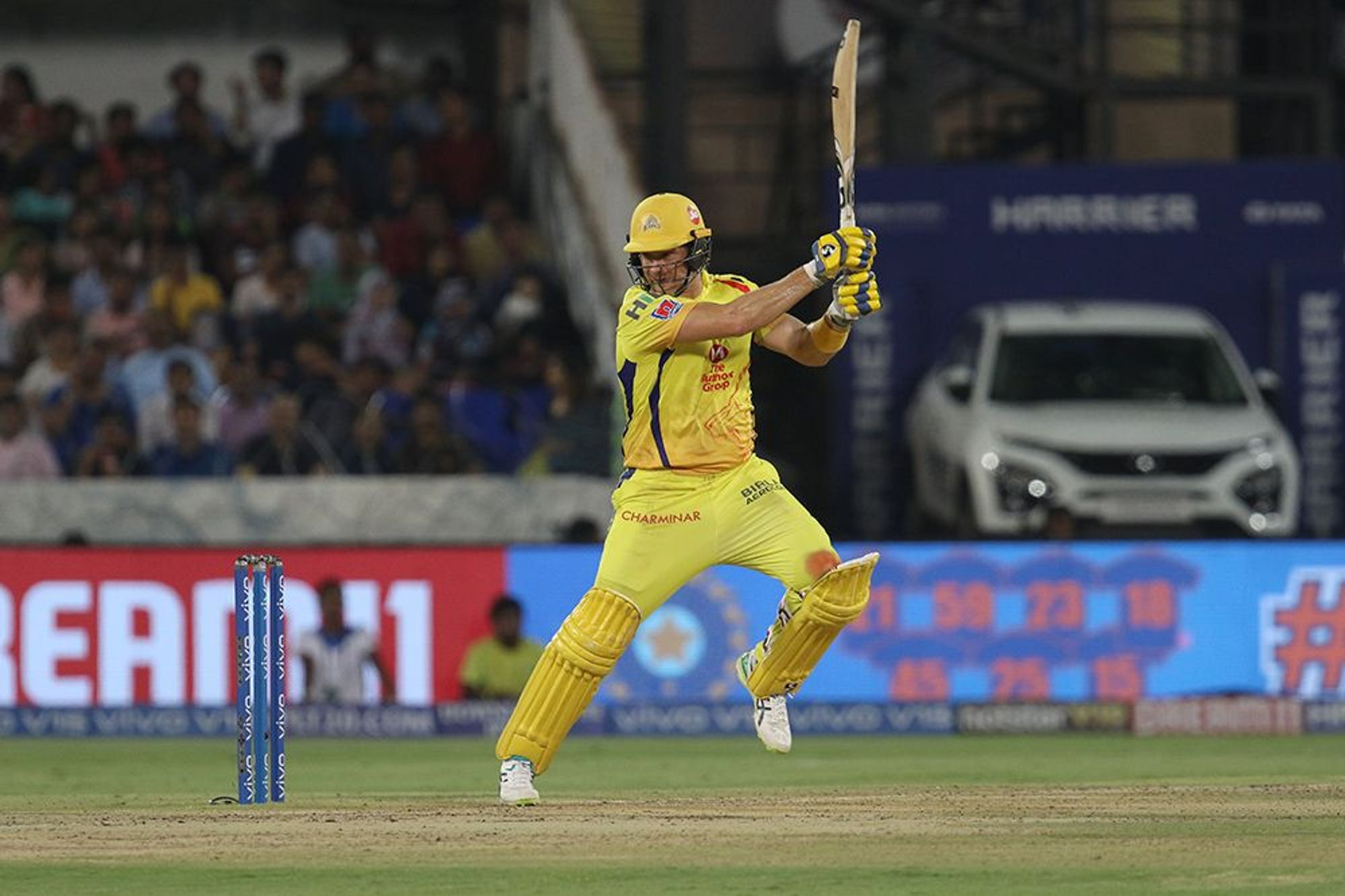 मुंबईविरुद्धच्या अंतिम सामन्यात वॉटसनने 59 चेंडूत 8 चौकार आणि 4 षटकारांच्या जोरावर 80 धावांची खेळी केली. वॉटसनने चेन्नईला जवळ जवळ चौथ्ये विजेतेपद मिळवून दिले होते. पण 20व्या षटकातील चौथ्या चेंडूवर तो धावबाद झाला. दोन रन घेण्याच्या प्रयत्नात तो पळाला पण क्रीझपर्यंत पोहचला नाही.