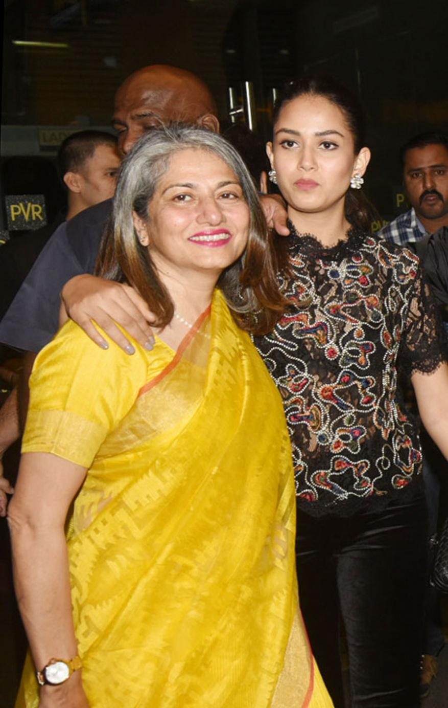 मिरा राजपुत आणि बेला राजपुत (फोटो- योगेन शहा)