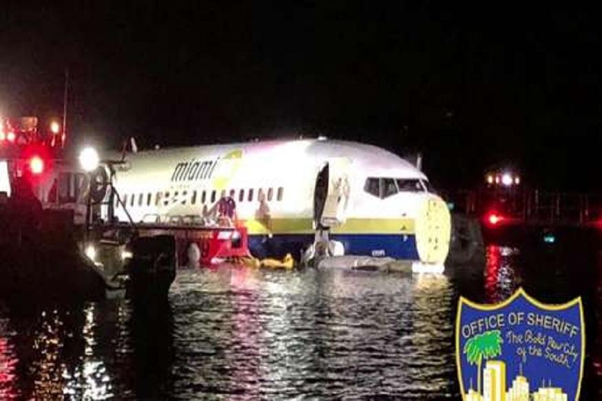 बोईंग 737 नदीत कोसळलं; विमानामध्ये होते 136 प्रवाशी